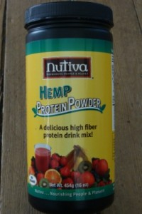 Nutiva Hemp protein powder