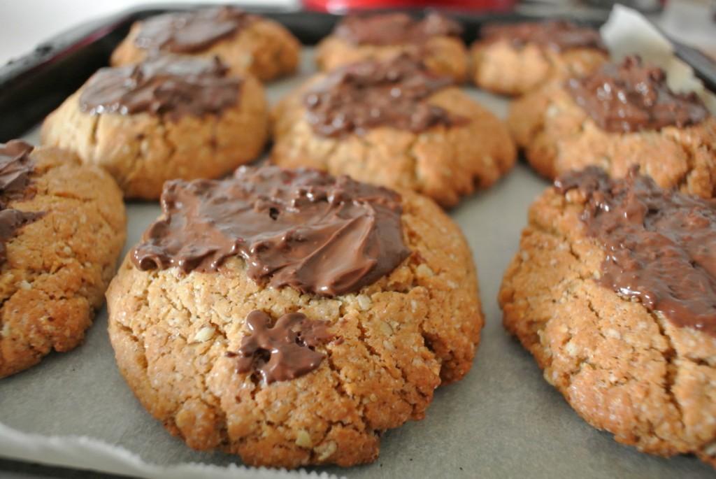 Cookies pleins de proteines