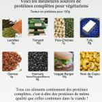 Les meilleures sources de protéines pour les végétariens